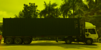40 ft Container with Prime Mover